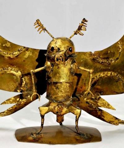 La papillon rongeur d'Afrique