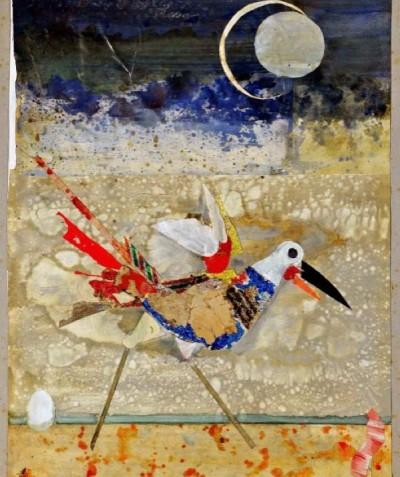 Sans titre (oiseau lune)