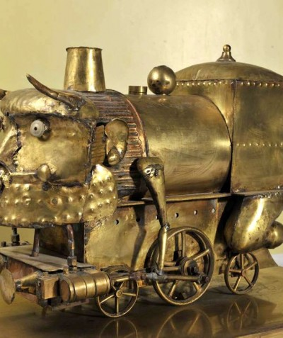 Taureau à vapeur